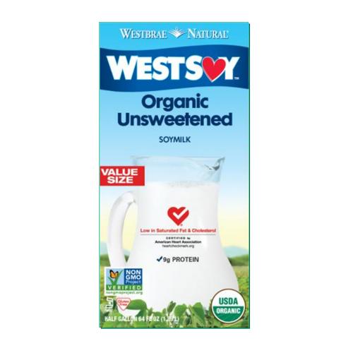 U S  WESTSOY Organic Soymilk (Unsweetened, 946ml*12/case)_