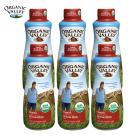 【全脂,6瓶】法国原装进口有机谷有机牛奶(17年02月27批次,1升装6瓶)