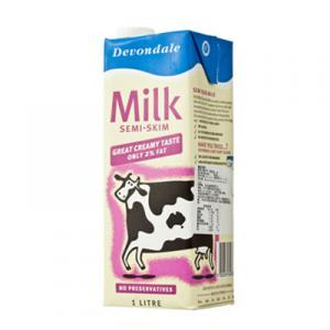 Au德运减脂牛奶(1升*10盒整箱)新批次stralia Devondale Semi-Skim Milk (1L*10 whole case)
