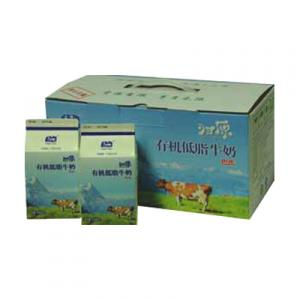 Green Yard Pasteurized Low-fat Organic Milk (Fresh Milk, Whole Case, Delivers Weds. & Sunday)