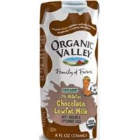 Organic Valley Organic Milk (New Date. Expire on Jul27, Chocolate 1% single serve)
