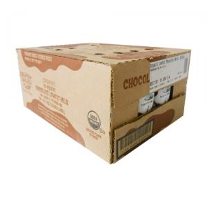 Organic Valley Organic Milk (New Date. Expire on Jul. 27, Chocolate 1% 2*12 pack single serve)