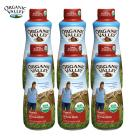 Organic Valley Whole Cream Organic Milk (Best by 08,14,2016, 1L 6packs)