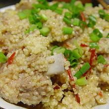 小米蒸排骨_炒菜鱼汤_健康食谱_和乐康_上海草食谱好吗图片